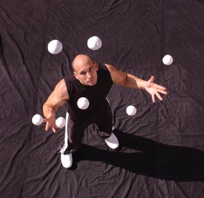 Juggling 10 Balls and dropping 6 is not the same as juggling 4 balls