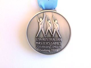 Dr Marc Dussault's 2009 Australian Masters Games Silver Medal