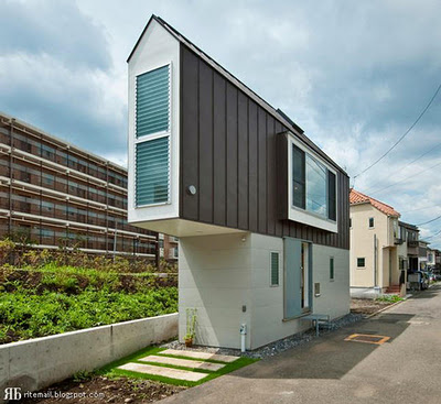 Super Thin House, Super Narrow Home