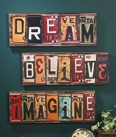 Dream Believe Imagine