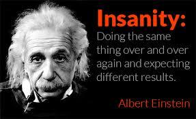 Einstein Insanity Quote