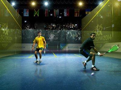 Squash Men Players