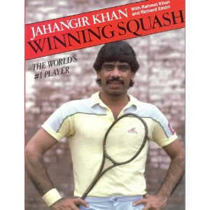Mindset Of A Champion, Jahangir Khan, Squash Book, Rahmat Khan, Squash Coaching