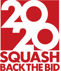 Squash Back the Bid for the 2020 Olympics