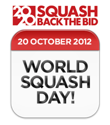 World Squash Day, 2020 Olympic Bid,