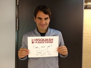 Roger Federer Back The Bid To Get Squash In The Olympics