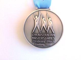Dr Marc Dussault's 2009 Australian Masters Games Silver Medal
