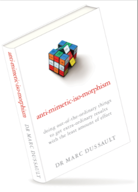 Antimimeticisomorphism The Book By Dr Marc Dussault