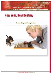 New Year New Destiny