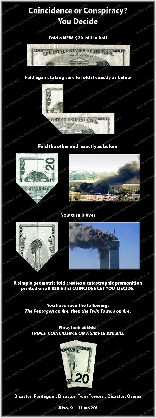 Conspiracy Theory - US 20 Dollar Bill