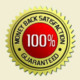 100% Money-Back Satisfaction Guarantee