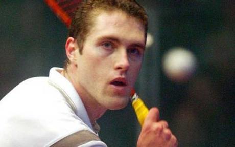David Palmer Squash Champion