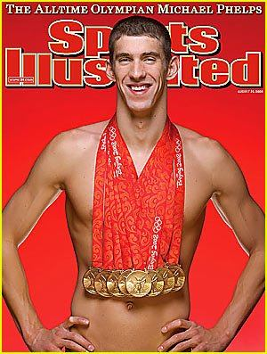 Michael Phelps 8 Gold Medals