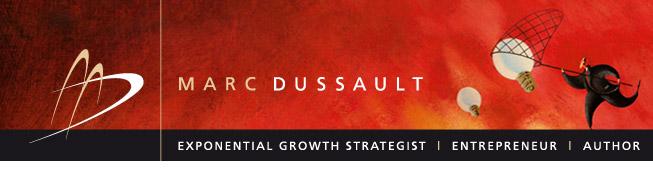 MarcDussault.com Banner